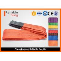 China Heavy Duty 100% Polyester Hoist Lifting Sling Rigging Sling Endless Low weight on sale