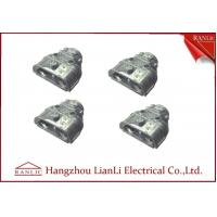 """Cheap Insulated 1/2"""" 3/4"""" Steel NM and MC Cable Connector With Duplex Hex Head for sale"""