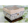 Buy cheap Outdoor Teppanyak restaurant equipment bbq korean tabletop   ceramic bbq grill from wholesalers