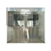 Best High Efficiency Stainless Steel Air Shower Equipment For Pharmaceutical Industry wholesale