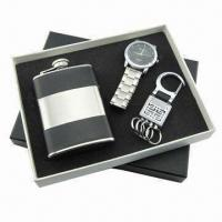 Best Promotional Gift Set(Watch, USB available), Measures 17.8x16x2.5cm wholesale