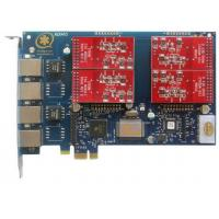 Best AEX410 with 4FXO Port Asterisk Card PCI Express Slot wholesale