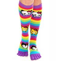 China knitted socks with two toe on sale