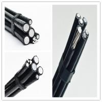 Best Electrical Service Drop Conductors Duplex Cable , Fire Resistant Aerial Drop Cable wholesale