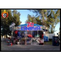Best Outdoor 7d cinema equipment dynamic seats with Beautiful 7D Cinema Cabin wholesale