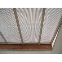 Cheap Customized Clear Corrugated Polycarbonate Roof Panel Bayer / GE Material for sale