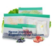 Buy cheap Reusable PEVA Standing Bag for Food Storage and Milk,FDA Reusable Standing from wholesalers