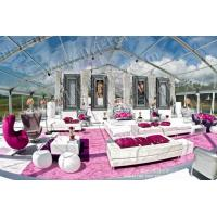 Buy cheap Luxury Wedding tent Clear Tents of PVC material for sale or rental from wholesalers