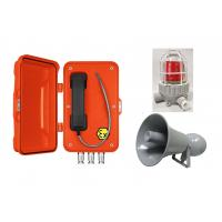Best Orange Watertight Explosion Proof Telephone For Oil Exploration / Chemical Industry wholesale