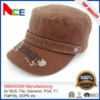 Best Custom Embroidered Military Caps , Military Boonie Cap Autumn Winter Fitted wholesale