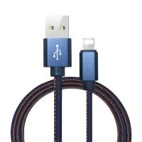 China Micro USB Data Charging Cable , Phone Charger Cable Fit IPhone 8 / X / IPad on sale