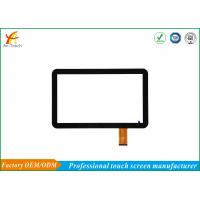 Cheap Ultra Thin Glass Touch Panel / Narrow Bezel Advertising Touch Screen for sale
