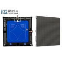 Cheap 3.91 Pixel Rental Die Casting Indoor LED Displays High Contrast Large Viewing for sale