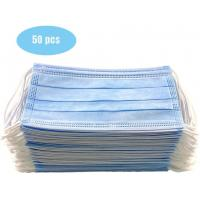 Best Anti Allergic Materials Eco Friendly 3 Ply Non Woven Face Mask wholesale