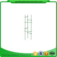 "Best Durable Steel Garden Plant Supports / Grow Through Plant Supports Plastic Coated 11"" W x 35"" H overall wholesale"