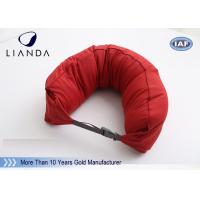 Best Custom U Shaped Memory Foam Pillows For Travel / Airplane , TUV BS5852 Certification wholesale
