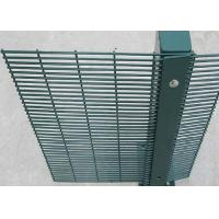 Best High Security Fence / 358 Security Mesh PVC Coated 1.8 X 2.2Meter With 80X80MM Post wholesale
