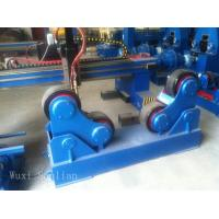 VFD Rubber Wheel Pipe Turning Rolls with Single Motor / 380V Welding Turning Rolls