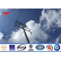 Best polygonal or conicla high voltage Steel Utility Pole for power Equipment wholesale