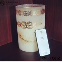 Best Personalized Party / Event Paraffin Wax Candles In Prinnted Glass Jar wholesale