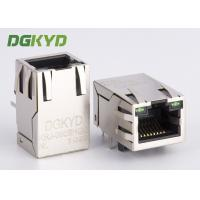 Best Shield cat 5 RJ45 Modular Jack Single Port tab up with magnetics Factory Outlet wholesale