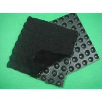 Best HDPE Dimpled Drainage Board , Composite Geotextiles And Geomembranes  Thickness 0.5mm wholesale