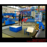 Best Single Side CNC Flame Cutting Machine With Cutting Torches , Siemens / Schneider Electrical Parts wholesale