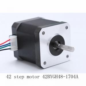 Best 42BYGH48 Length 48mm 3D Printer Motors Nema 17 1.7A Current wholesale