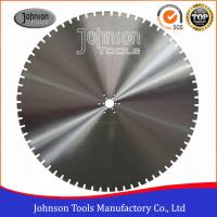 Best Long Cutting Life Wall Saw Blades For Cutting Highways Fence / Bridge wholesale