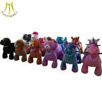 China Hansel hot selling kids play rides coin operated electric animal mall car for kids on sale