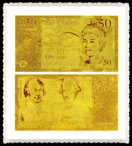 Best Engrave gold foil banknote wholesale