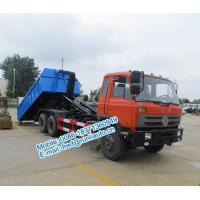 Best Q23B high strength hook arms Dongfeng 6x4 18~25 ton cheap price of hooklift garbage truck for sale wholesale