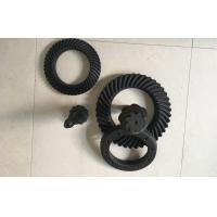 China High Precision Spiral Bevel Gear Bevel Pinion And Crown Wheel For Gearbox on sale