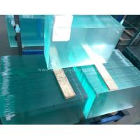 Quality Curve  10MM  Durable Csi Custom Tempered Safety Glass Low Visible Distortion wholesale