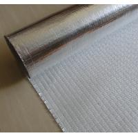 China Fire Retardant Aluminized Fiberglass Fabric ALFW600 With Strong Light Reflection on sale