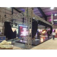 China Hanging Line Speaker Box Stage Roof Truss System Hanging LED Screen Facilities on sale