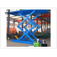 Best Double Acting Single Piston Hydraulic Scissor Lift  for Engineering Machinery wholesale