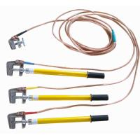 High Voltage Grounding Stick : Details of m light epoxy resin grounding stick earth