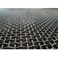 Best Factory Flat Top Crimped Woven Wire Mesh Multi Color With Beautiful Structure wholesale