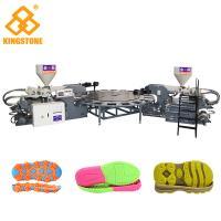 Best Automatic Rotary PVC/TPR Shoe Sole Making Machine , Outsole Direct Injection Moulding Machine wholesale
