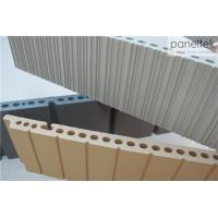 Best Lined / Grooved Terracotta Wall Tiles Sound Insulation For Curtain Wall wholesale
