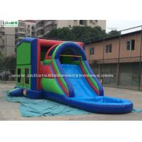 Best Commercial Jumping Castles 5 In 1 Inflatable Bounce House With Slide wholesale