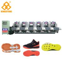 Best Semi Automatic One Color Rubber Sole Making Machine For High Grade Leather Shoes wholesale
