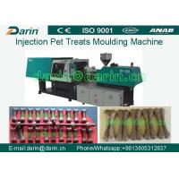 380V 50HZ Pet Injection Molding Machine , Injection Dog Snack Moulding Machine