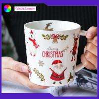 Cheap Breakfast Ware Promotional Ceramic Coffee Mugs Stoneware Christmas Mugs for sale