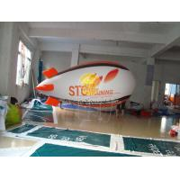 Best Total Digital Printed Advertising Helium Zeppelin Balloons with Lighting for Opening event wholesale