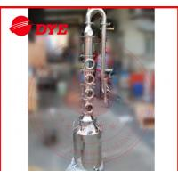 Best 50L / 100L Mini Steam Home Distillation Equipment Semi-Automatic CE wholesale