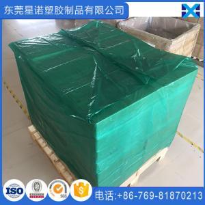Best 52 x 50 x 70 Inch Transparent Reusable PE Plastic Pallet Cover wholesale