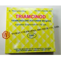Quality Organic Chemcials Triamcinolone Acetonide Injection Medicine 80mg / 2ml Ceramic White Word , Brown wholesale