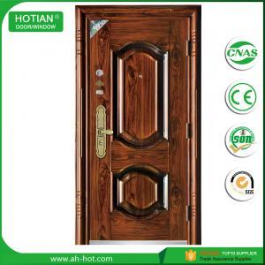 Best New Main Gate Designs and High Quality Steel Security Door Exterior Metal Door wholesale